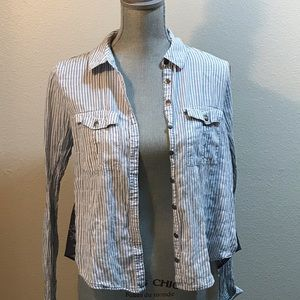 Free People Button Up Size Xs